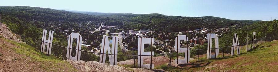 Honesdale Photograph - Irving Cliff by Annie Walczyk