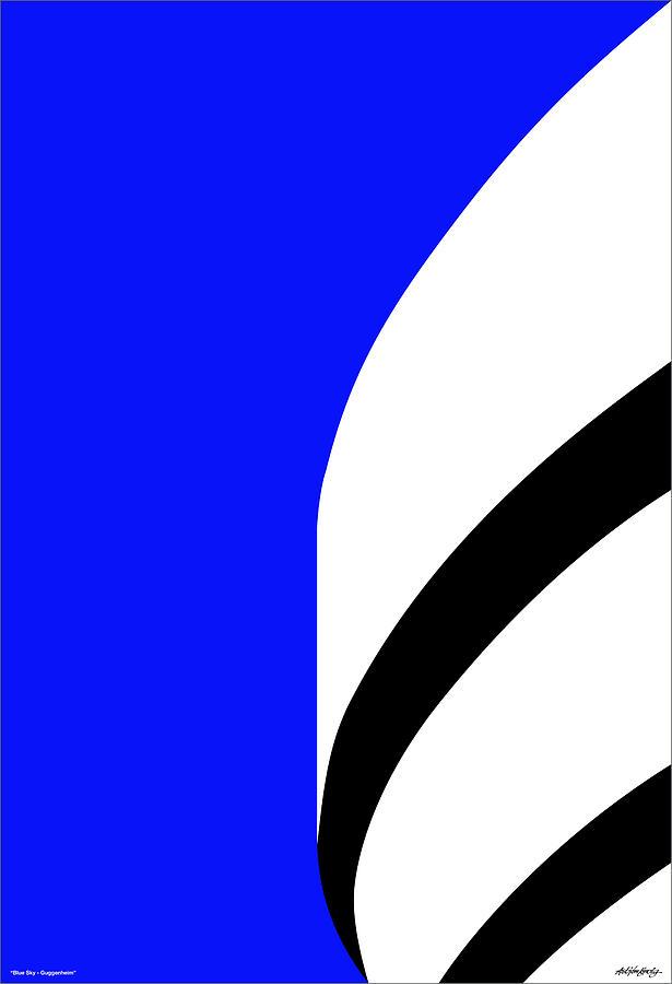 Guggenheim Digital Art - Is It Guggenheim by Asbjorn Lonvig