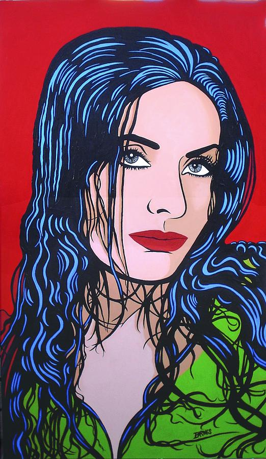 Isabel Sarli Sauvage Painting by Cristian Barnes