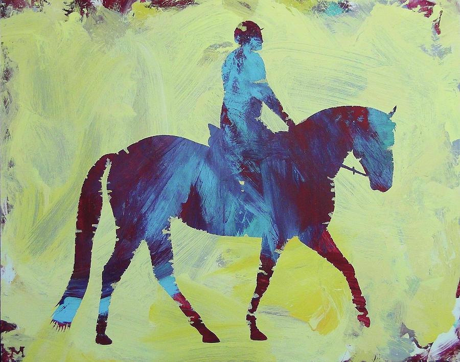 Horse Painting - Isabella by Candace Shrope