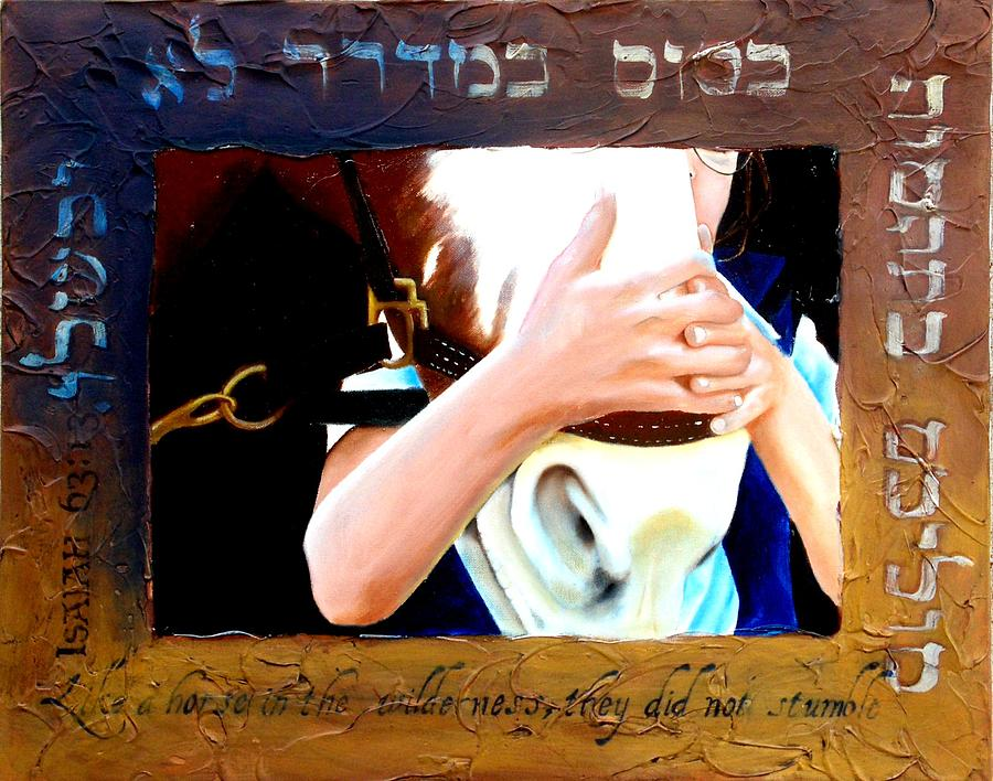Isaiah 63 Painting by Michael Carter