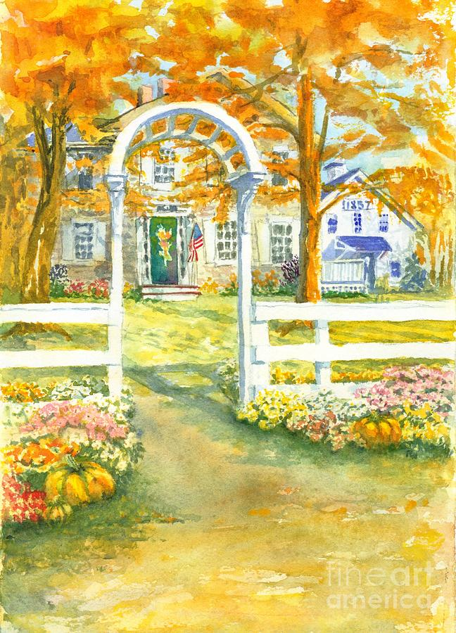 Country Inn Painting - Isaiah Hall by Robert Haeussler
