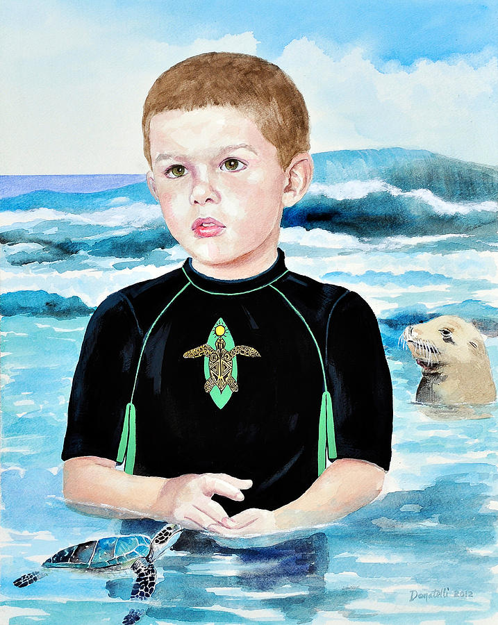 Isaiah Son of Neptune by Kathryn Donatelli
