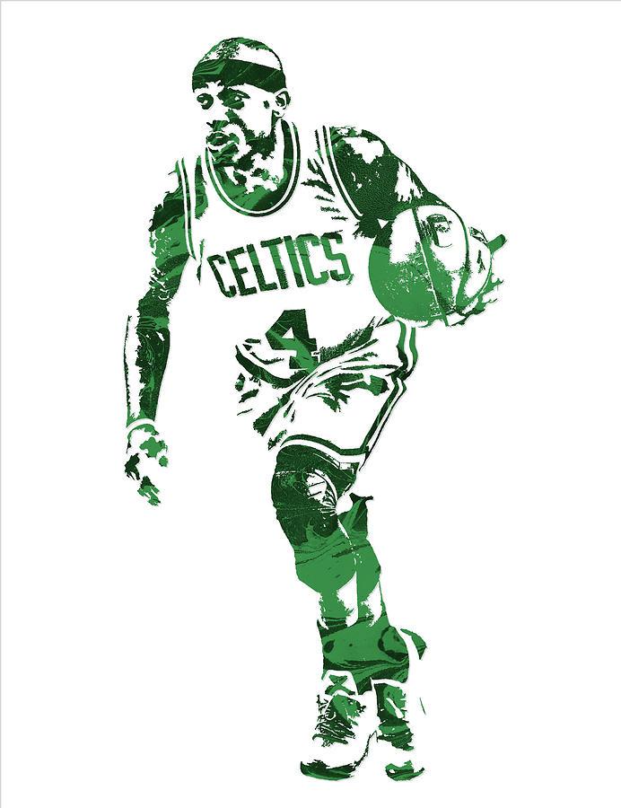 new concept 4faec 75ddb Isaiah Thomas Boston Celtics Pixel Art 4
