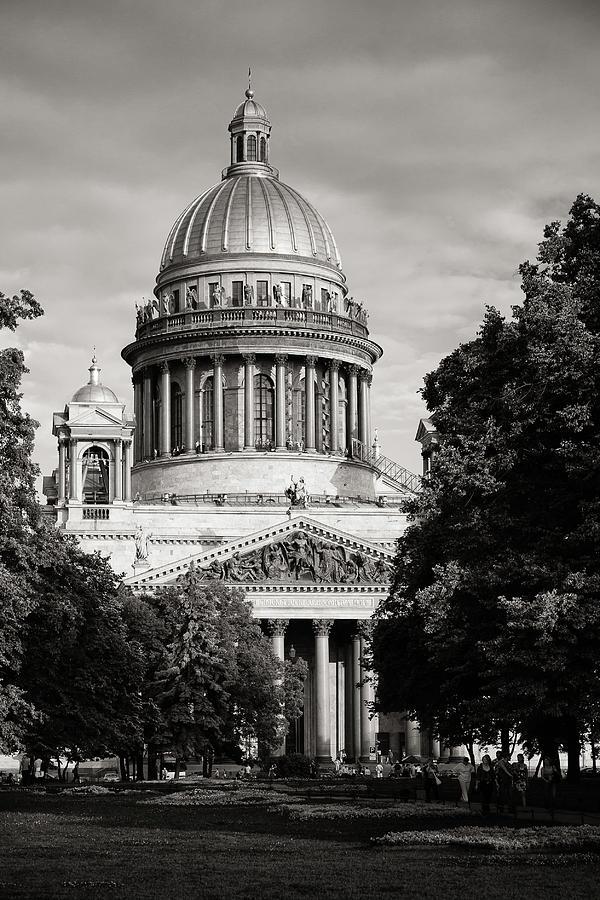 Alone Photograph - Isakievsky Cathedral by Konstantin Dikovsky
