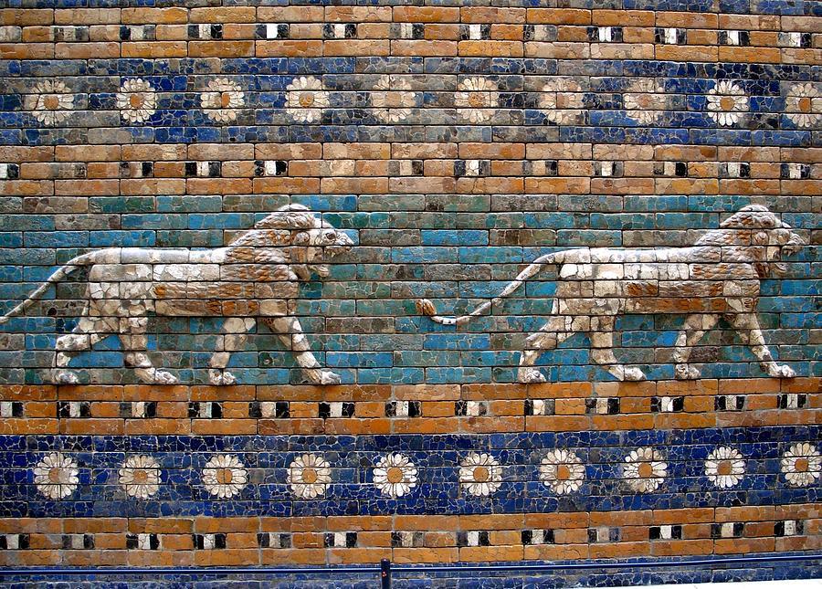 Ishtar Gate Digital Art - Ishtar Gate by Dorothy Binder