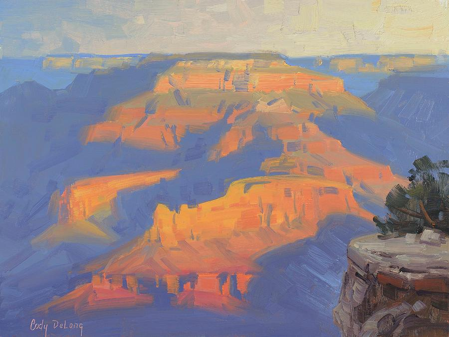 Grand Canyon Painting - Isis in the morning by Cody DeLong