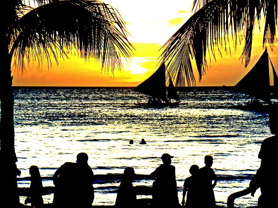 Beach Photograph - Isla De Boracay by Sarah Scherf
