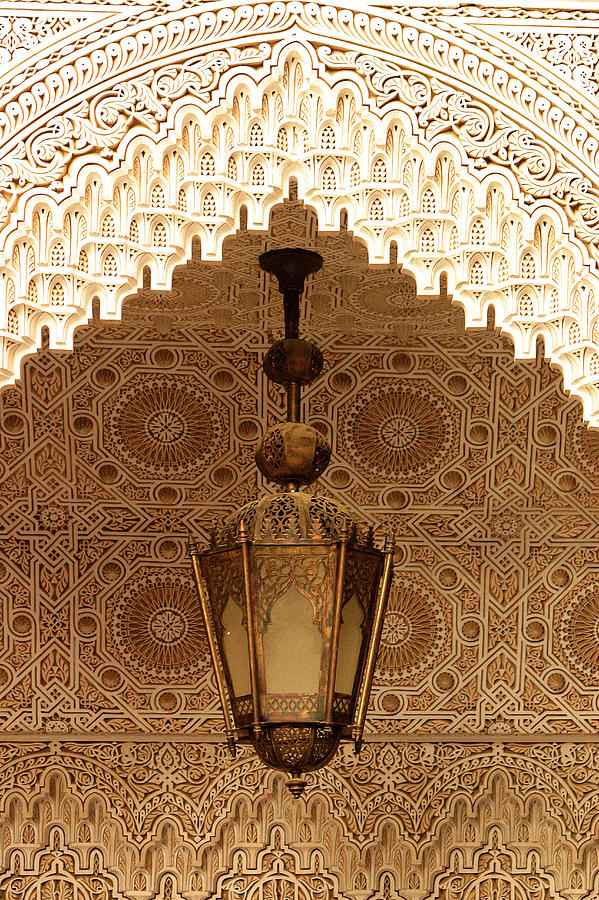 Morocco Photograph - Islamic Plasterwork by PIXELS  XPOSED Ralph A Ledergerber Photography