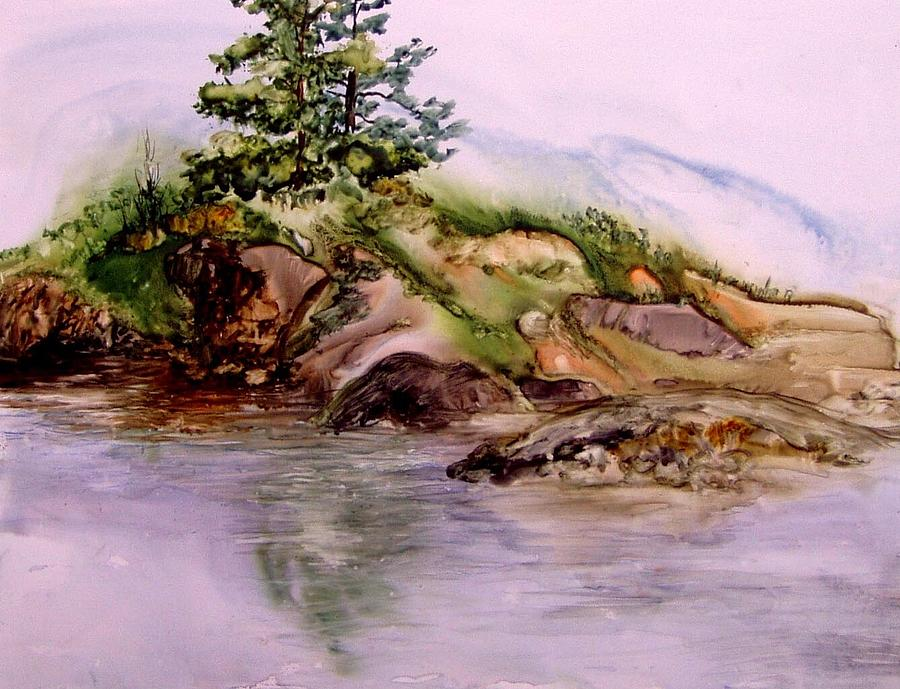Island at Rocky Bottoms by Pamela Lee