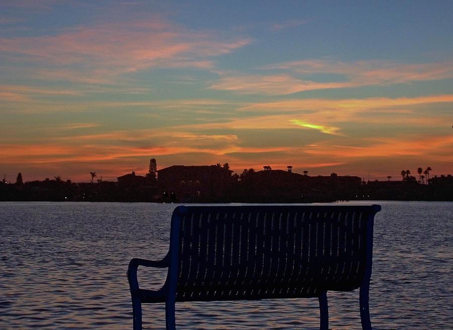Island Estates Sunrise Photograph by Karl Mahnke