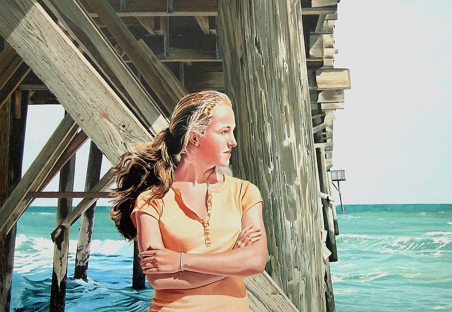 Island Girl Painting by Ben Watson III