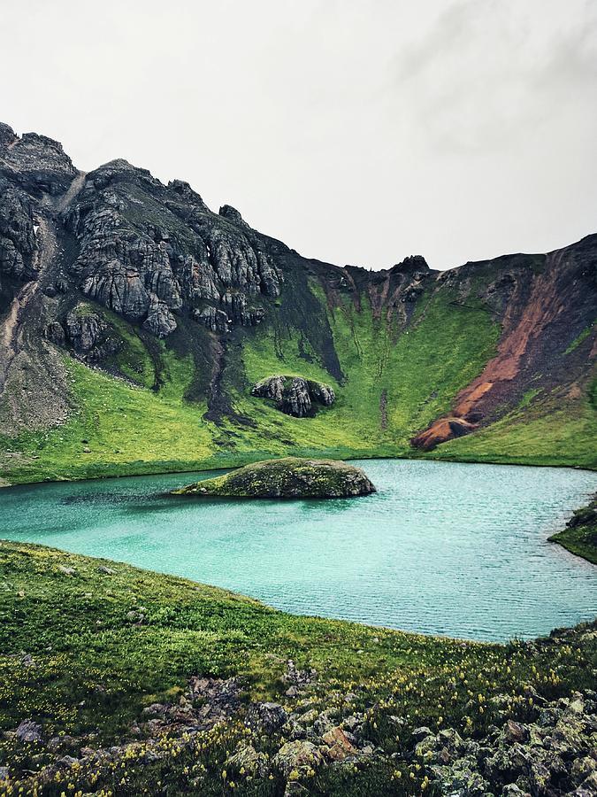 Island Lake Photograph - Island Lake by Kristina Jenson