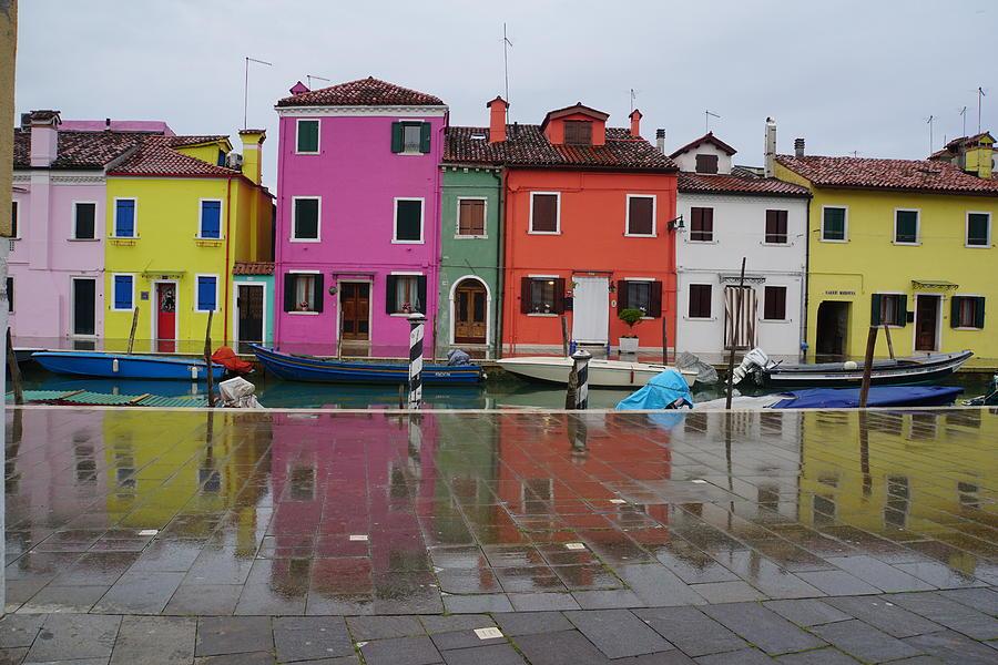 Italy Photograph - Island Of Burano by Deborah Bondar