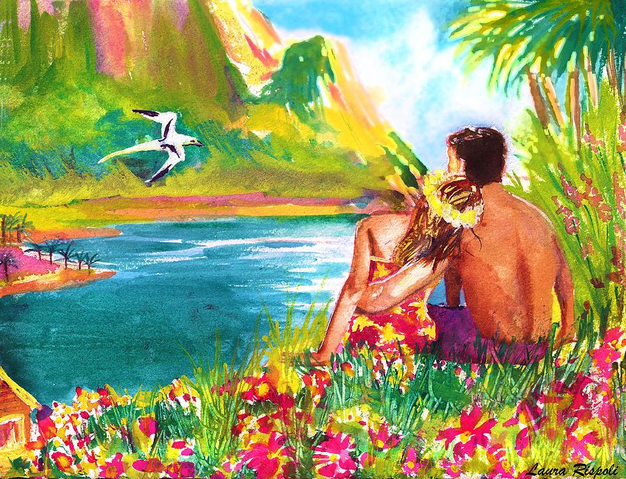 Island Paradise Painting By Laura Rispoli
