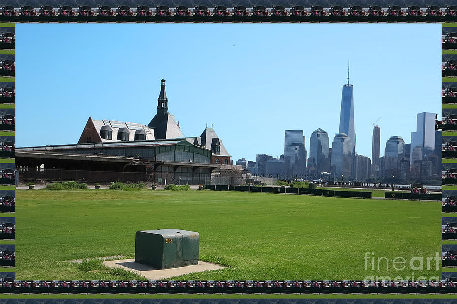 Newyork Photograph - Island Park Elise Museaum Of American Immigration Journey Trip To Newyork Travel Zone America Photog by Navin Joshi