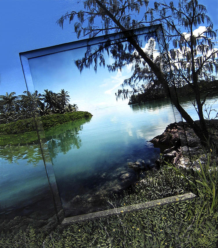 Off Photograph - Island Retreat by Michael Albin