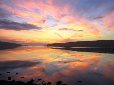 Sunrise Photograph - Island Sunrise by Misty Alger