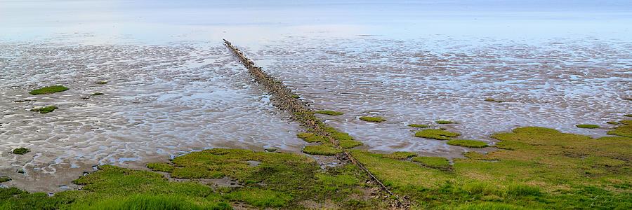 Tideland Photograph - Island Sylt - Mudflat by Marc Huebner