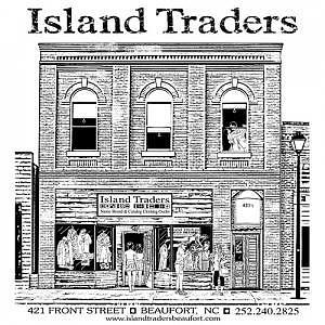 Brick Building Digital Art - Island Traders Store by Nancy C Toothman
