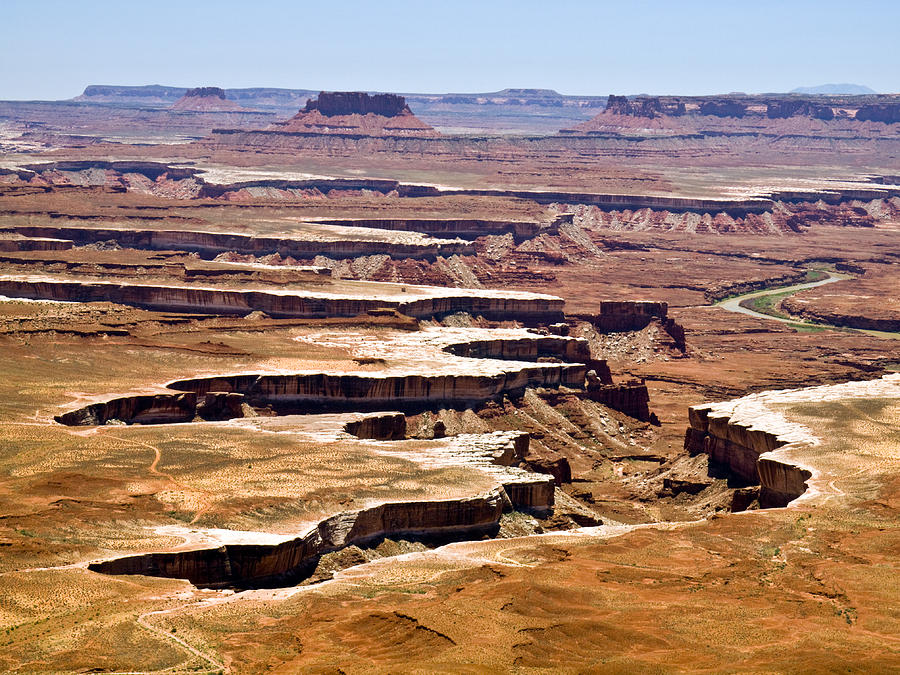Canyonlands Photograph - Islands In The Sky by Phil Stone