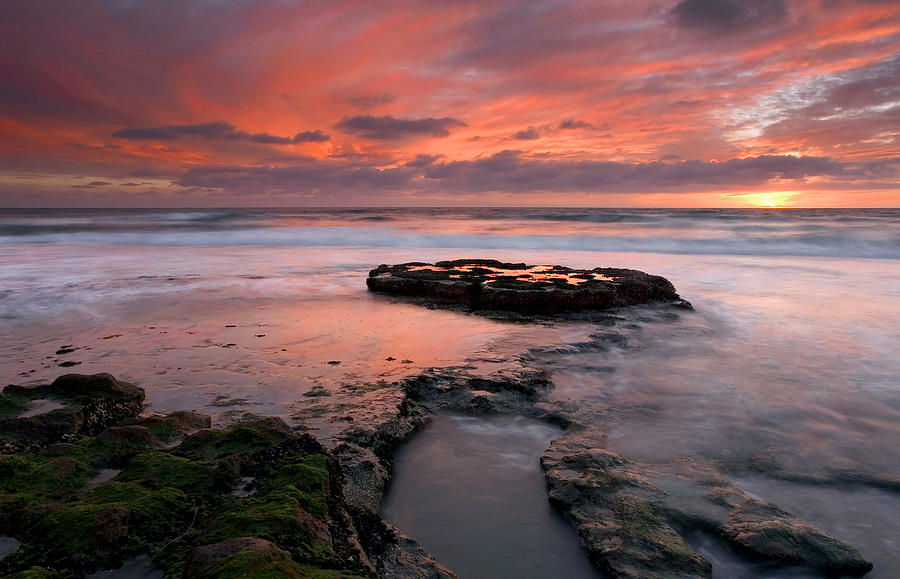 Sunset Photograph - Isle Of The Setting Sun by Mike  Dawson