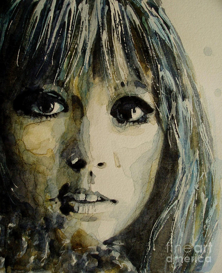 Pattie Boyd Painting - Isntt It Pity by Paul Lovering