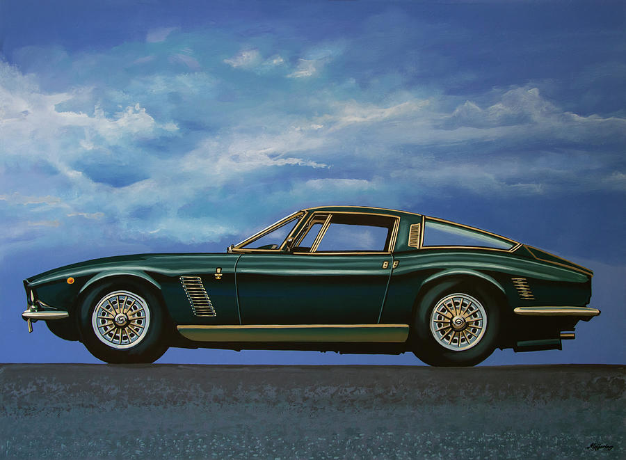 Iso Grifo Painting - Iso Grifo GL 1963 Painting by Paul Meijering