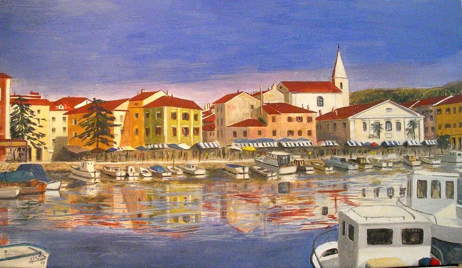 Hause Painting - Isola Distria by Anthony Meton