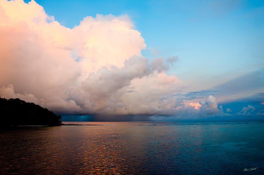 The Ocean Photograph - Isolated Isolated Shower by Mumbles and Grumbles
