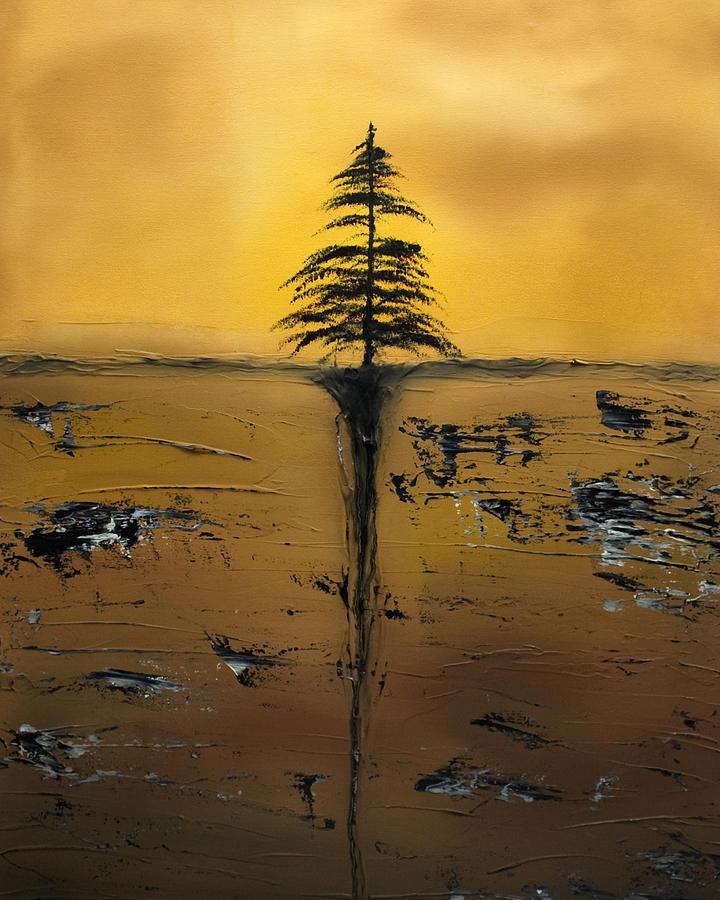 Tree Painting - Isolation by Rob Tullis