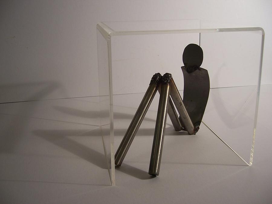 Isolation Sculpture by Wiktoria Palacios Isolation Artwork