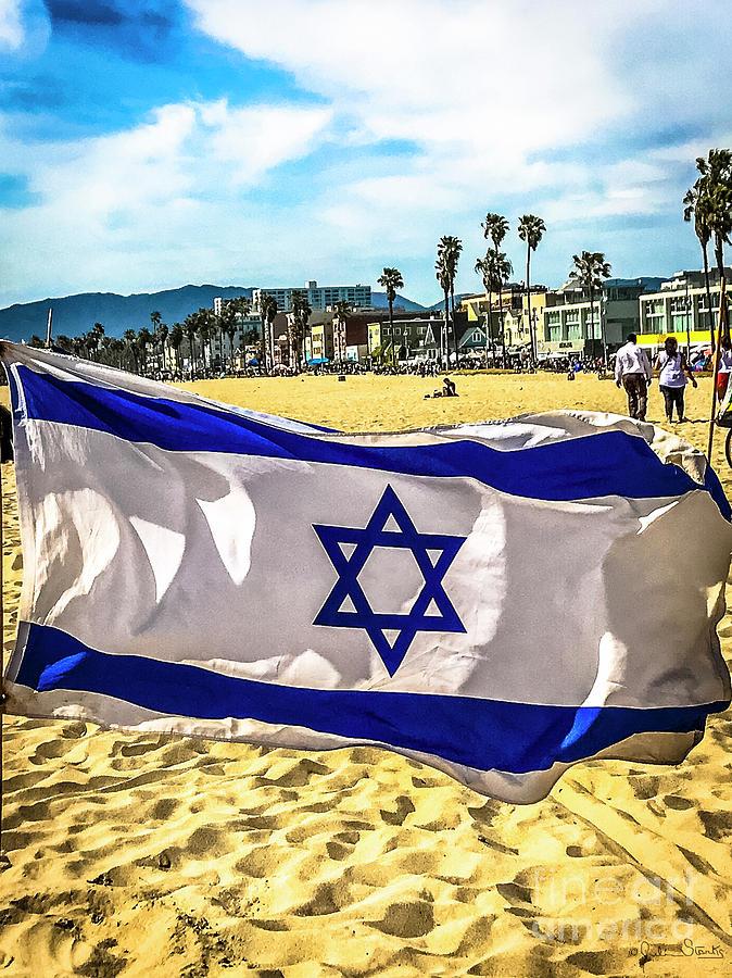 Israel Flag by Julian Starks