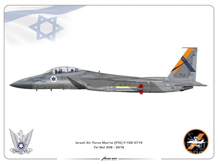 Israeli Air Force F-15D - FTC Sqd. by Amos Dor