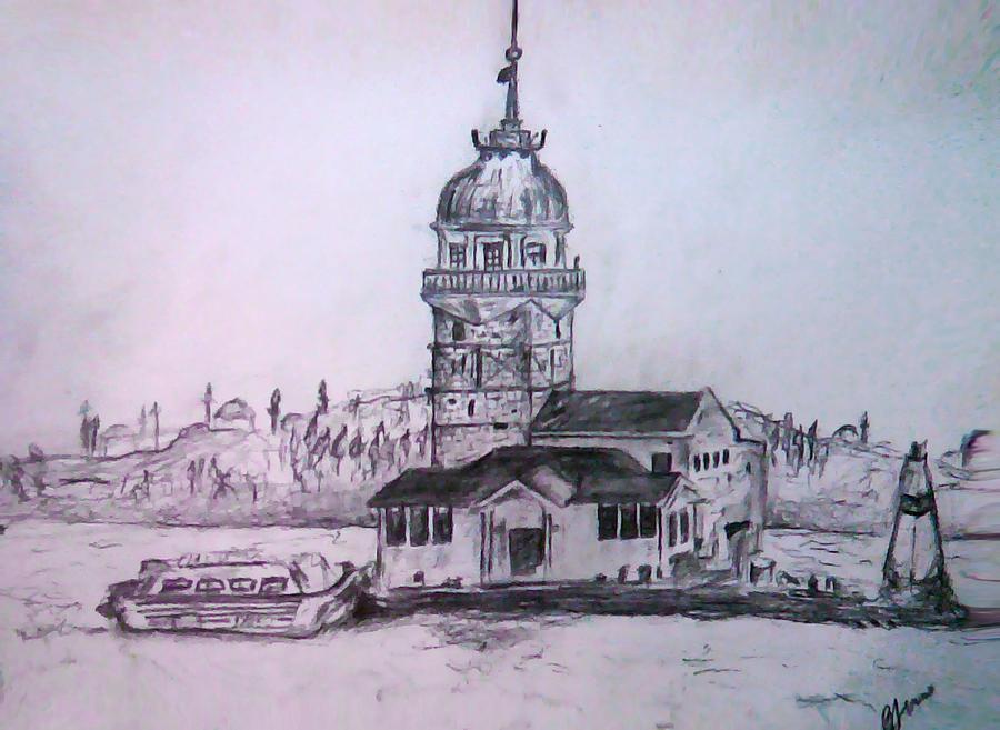 Istambul Painting - Istambul by Bekim Axhami