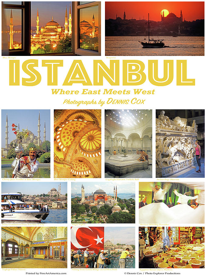 Istanbul Poster Photograph