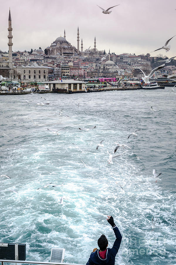 Istanbul to Kadikoy, Ferry Ride on the Golden Horn by Perry Rodriguez