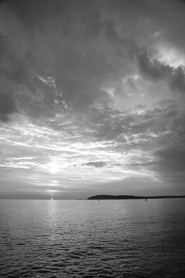 Sea Photograph - Istria by Ian Middleton