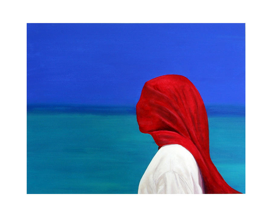 Red Painting - It Could Be You by Fiona Jack