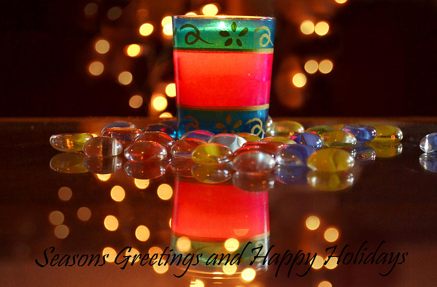 Bokeh Photograph - It Feels Like Christmas by Rima Biswas