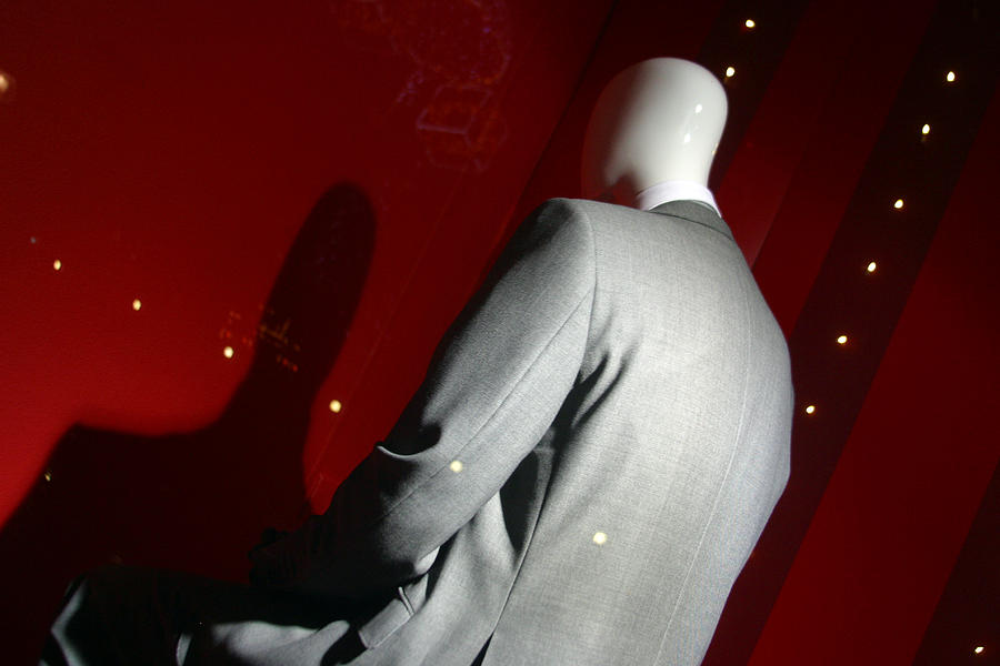 London Photograph - It Is Only The Suit That Stops Me Looking Timid by Jez C Self