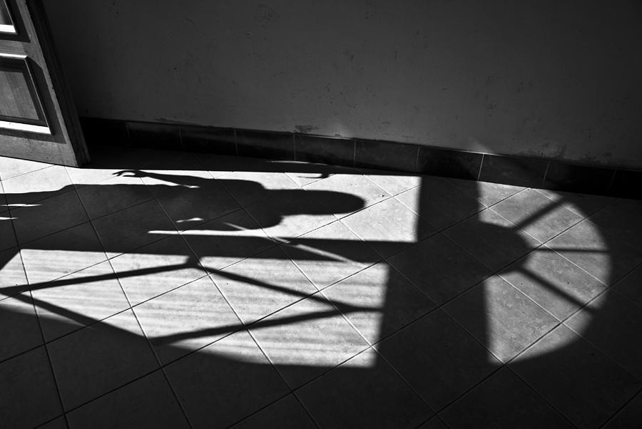 Shadow Photograph - It Leaves... Do Not Hold It... by Vadim Grabbe