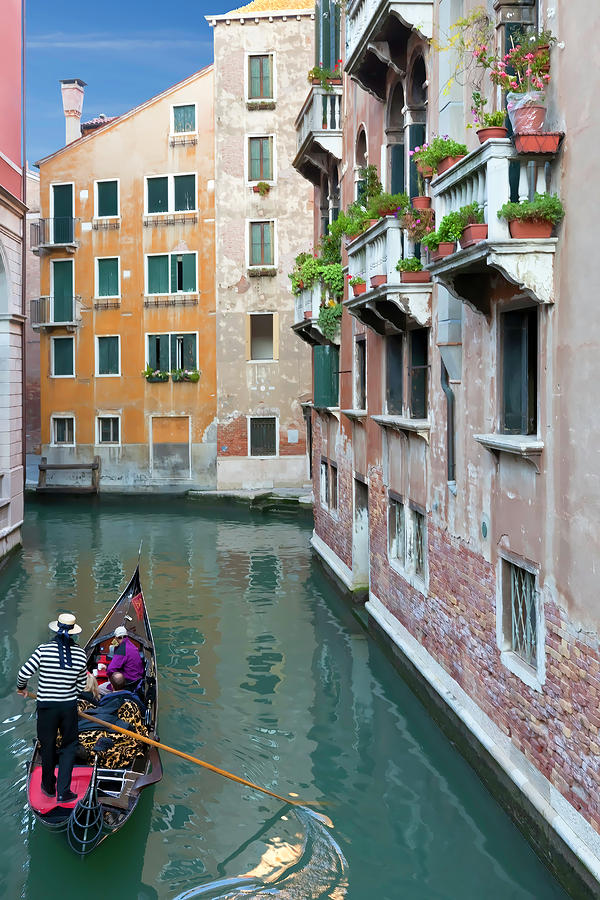 Italy Photograph - It Must Be Venice by Janet Fikar