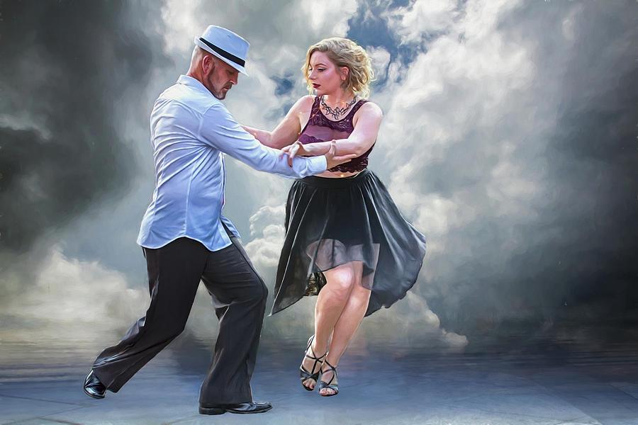 Dance Photograph - It Takes Two To Tango by John Haldane