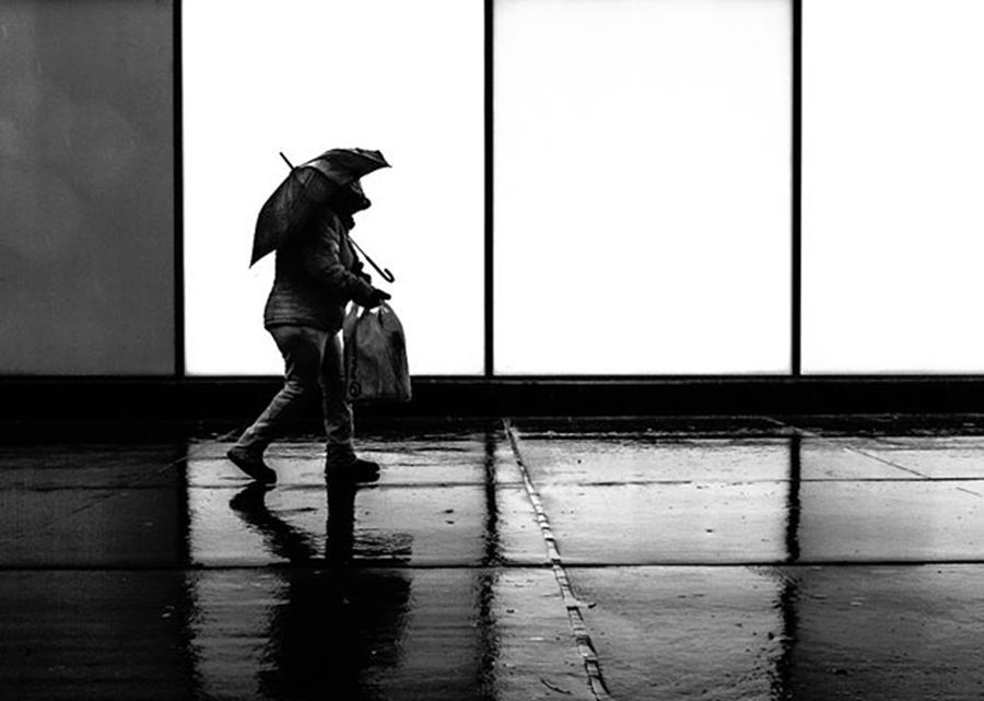 Toronto Photograph - It Was A Rainy Day When...... #rainday by Brian Carson
