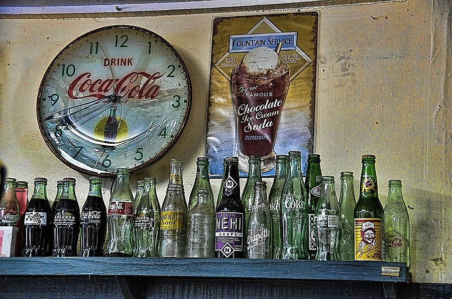 Still Life Photograph - It Was Time For A Drink by Jan Amiss Photography