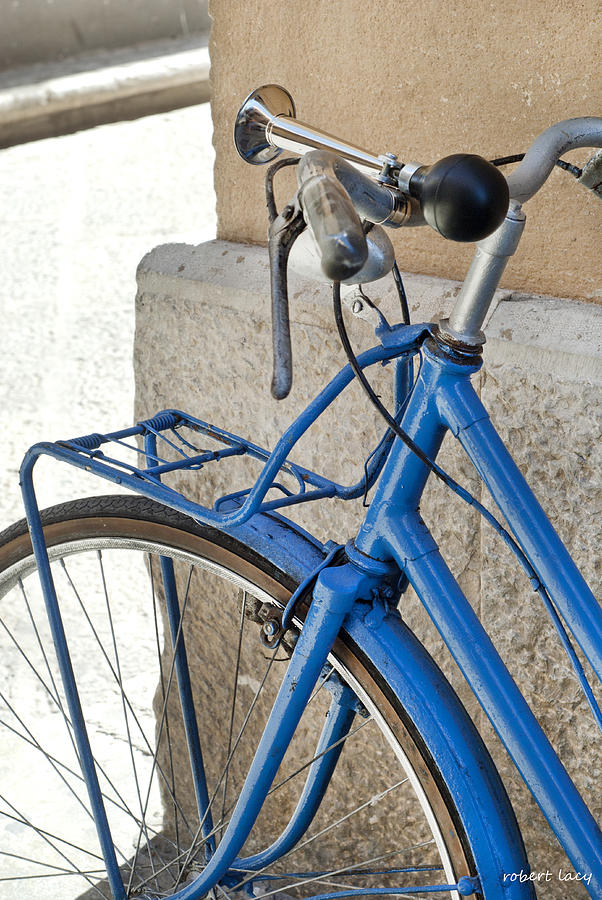 Sicily Photograph - Italian Bike by Robert Lacy