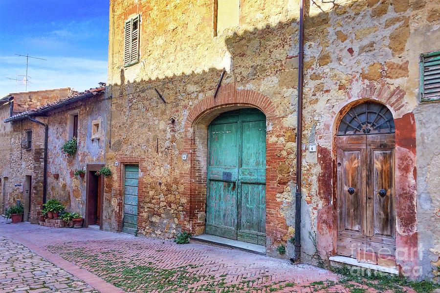 Italian Door #1 by Jennifer Ludlum