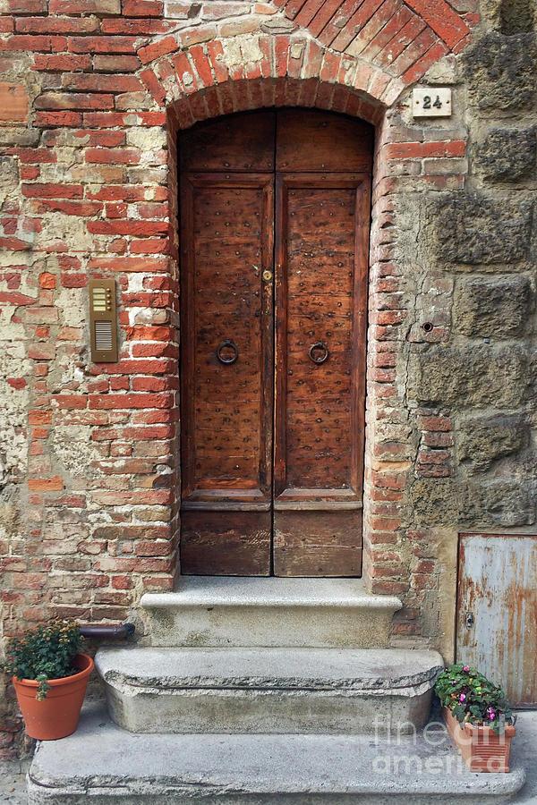 Italian Door #2 by Jennifer Ludlum