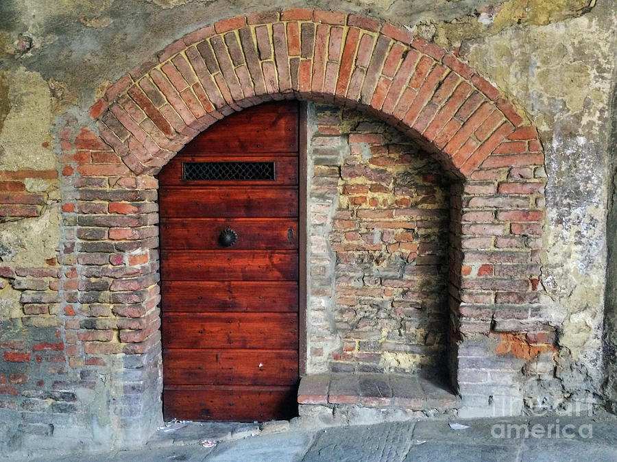Italian Door #3 by Jennifer Ludlum